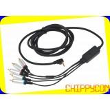 PSP3K/2K/1K component cable компонентный кабель PSP
